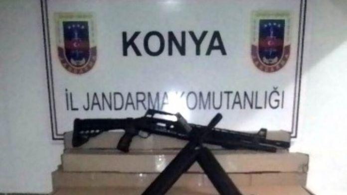 Beyşehir'de Yasa Dışı Üretilen 100 Av Tüfeği Ele Geçirildi