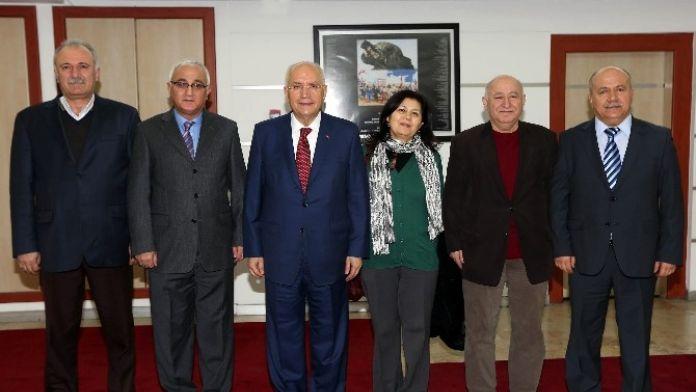 Yen-der'den Başkan Fethi Yaşar'a Ziyaret