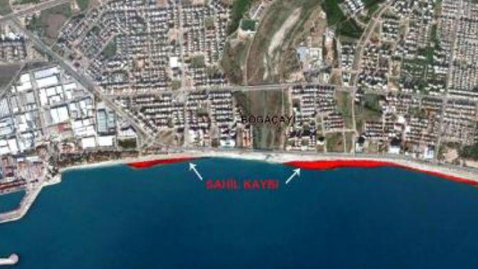 Dünyaca ünlü sahil 70 metre kayboldu- ek fotoğraf