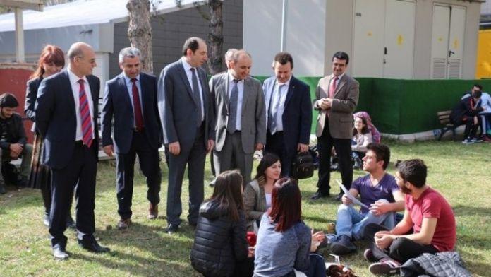Hitit Üniversitesi'nden Amasya Üniversitesi'ne İşbirliği Ziyareti