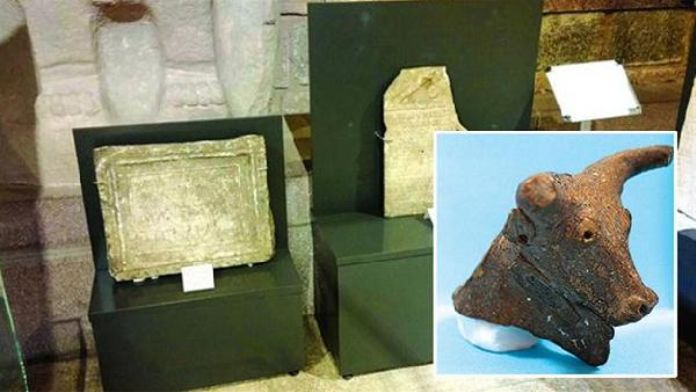 Thirty-nine artifacts returned to Turkey in 2015