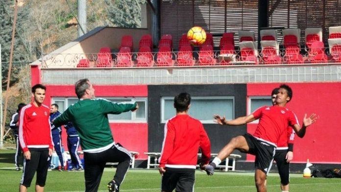 Gaziantepspor'da Kayserispor Mesaisi Devam Ediyor