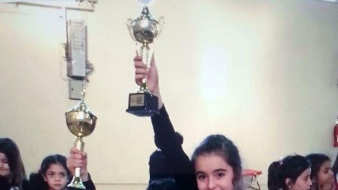 Diyarbakır Minikler Jimnastik Müsabakaları Yapıldı