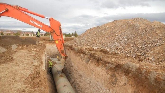 Boztepe Recai Kutan Barajı Sulaması Çalışmaları Devam Ediyor