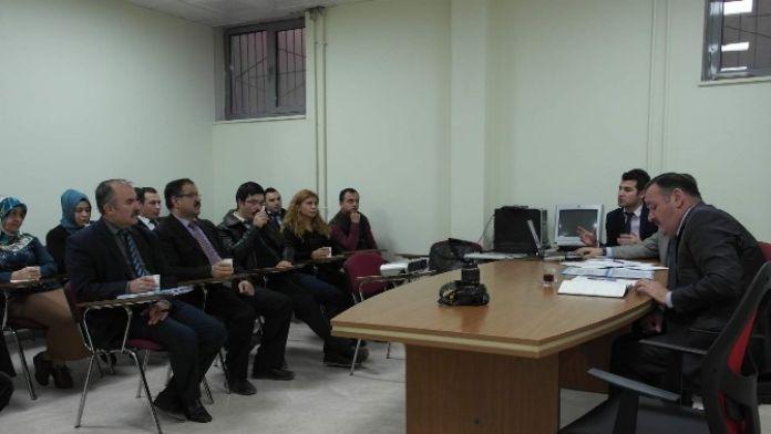 Yozgat Kamu Hastaneleri Birliği Genel Sekreterliği Hasta Memnuniyeti Değerlendirme Toplantısı Yaptı