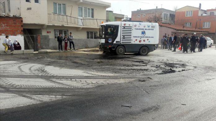 Manisa'da 3 kişinin öldüğü trafik kazası