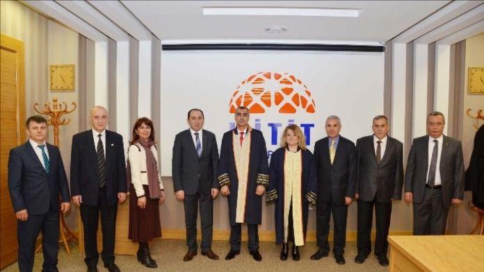 Hitit Üniversitesi'nde Terfi Töreni