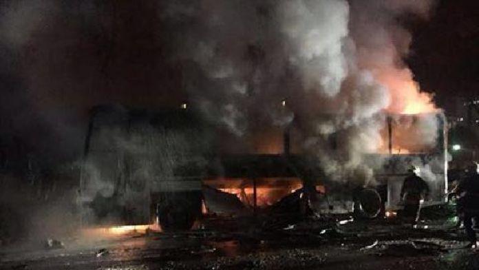 Ankara'da bombalı saldırı (ek fotoğraf)