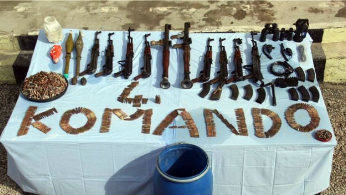 Tunceli'deki operasyonda çok sayıda mühimmat ele geçirildi