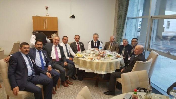 Muhtarlardan Milletvekilleri Arslan Ve Beyribey'e Ziyaret