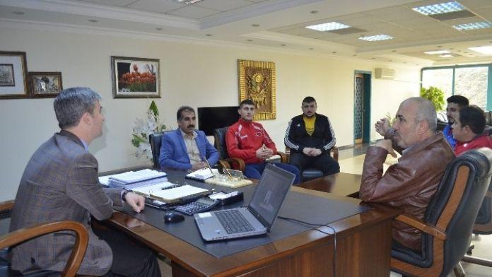 Özaydın Spor Kulübü'nden Başkan Şirin'e Ziyaret
