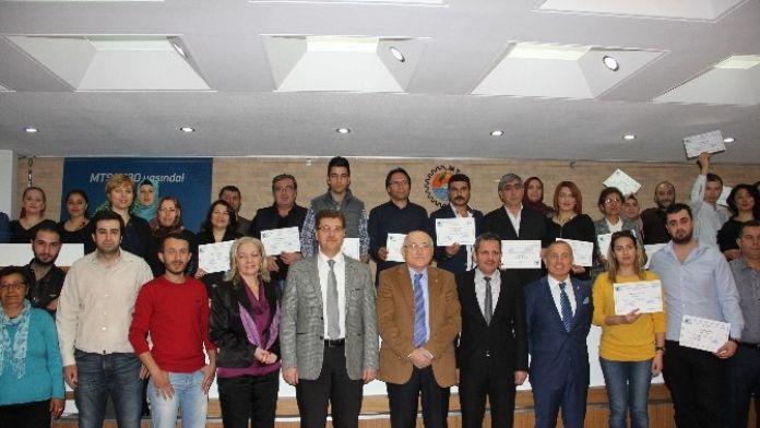 MTSO Ekav'ın Girişimci Adayları Sertifikalarını Aldı