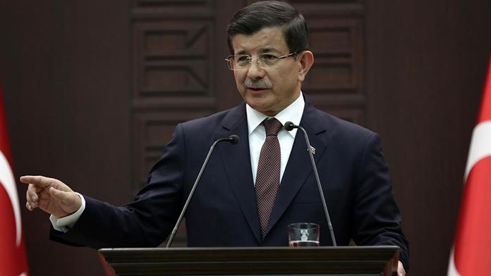 Davutoğlu'dan Genelkurmay Başkanlığı'na Taziye Ziyareti