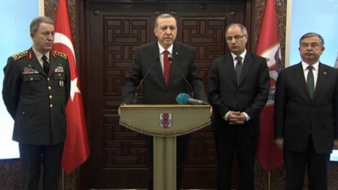 Erdoğan: 14 kişi gözaltında