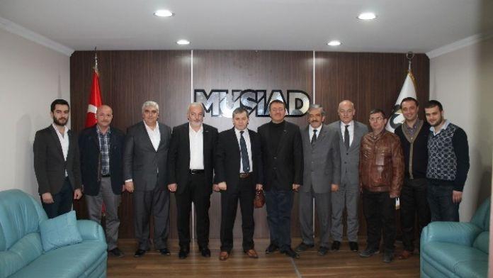 Ağır Ceza Reisi Göztaş'tan MÜSİAD'a Ziyaret