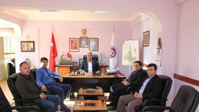Emet Bor İşletme Müdürü Arslan, Başkan Çalışkan'ı Ziyaret Etti