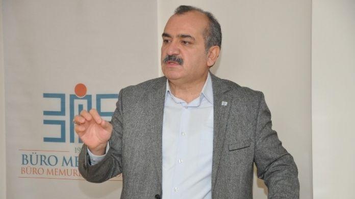 Büro Memur-sen Genel Başkanı Yazgan: 'Terörden Medet Umanların İnsanlık Dışı Saldırılarını Vicdanlar Affetmeyecektir '