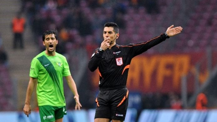 İşte Galatasaray - Trabzonspor Maçının Hakemi