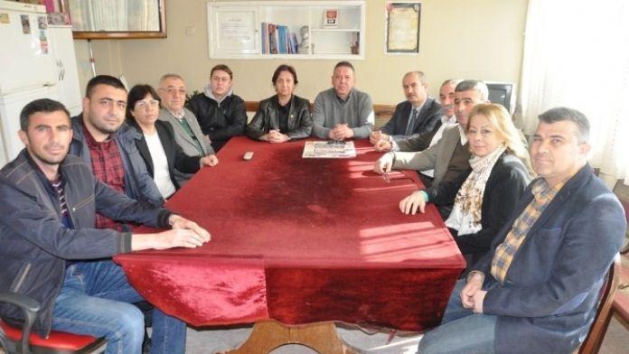Ödemiş CHP İlçe Örgütü 'Terör' İçin Toplandı