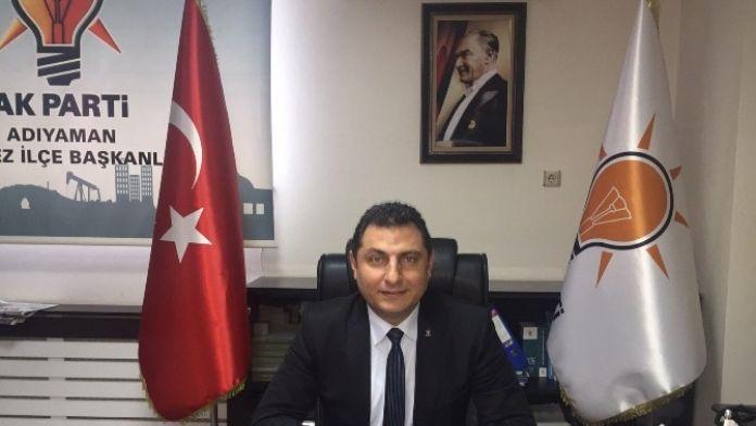 AK Parti Merkez İlçe Başkanı İstifa Etti