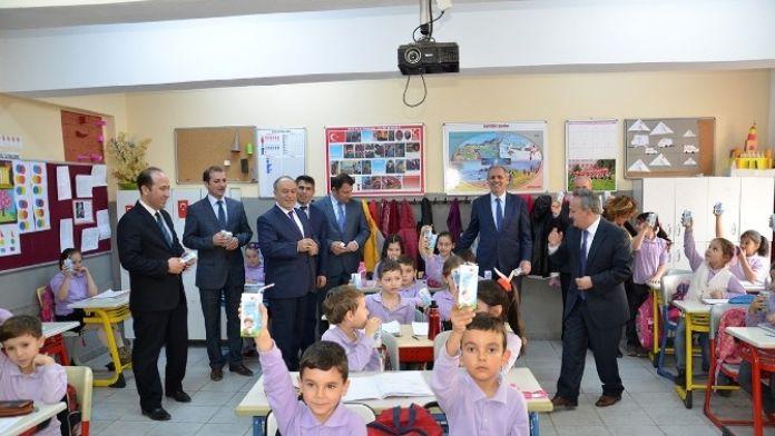 Okul Sütü Programı 5'inci Yılında Da Devam Ediyor
