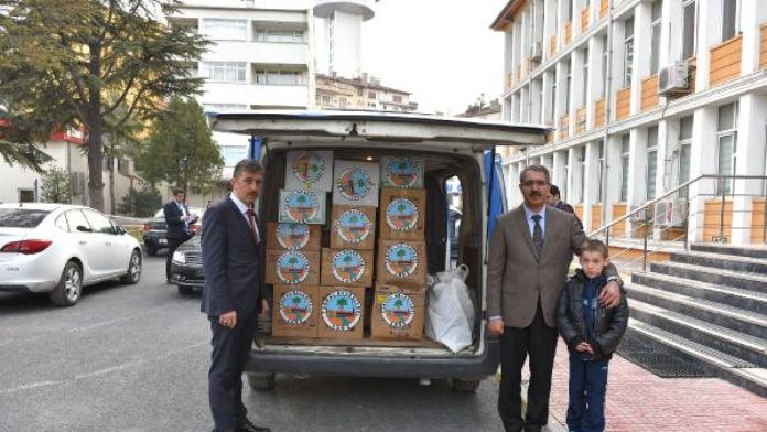 Turhal'da Belediye çalışanlarından, Sur'daki güvenlik güçlerine yiyecek paketi