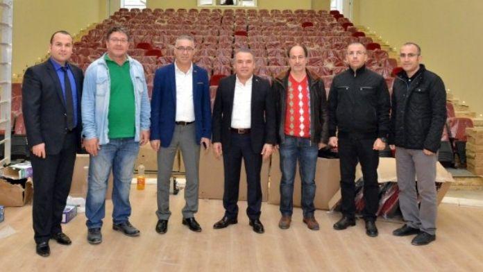 Konyaaltı Kültür Merkezi Açılışa Hazır