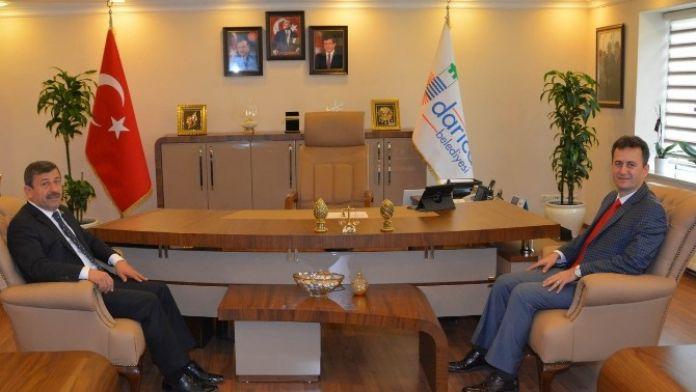 Prof. Dr. Görgün, Başkan Karabacak'ı Ziyaret Etti