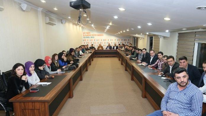 Başkan Zeki Toçoğlu AK Partili Gençlerle Bir Araya Geldi