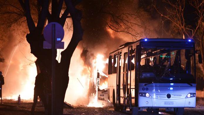 Saldırısının ardından 14 kişi gözaltına alındı