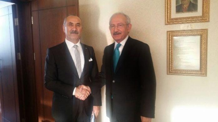 Nazım Culha'dan Kılıçdaroğlu'na Ziyaret