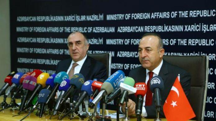 Dışişleri Bakanı Mevlüt Çavuşoğlu, Bakü'de