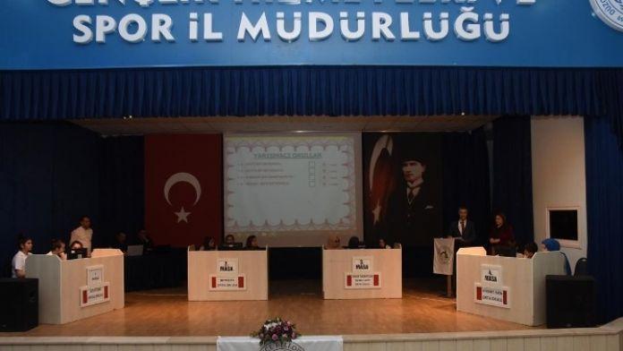 Bilgi Yarışmasında İkinci Grup Yarışması Tamamlandı