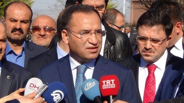 Bakan Bozdağ: 'HDP Bildiriye İmza Atmayarak Kendine Yakışanı Yapmıştır'