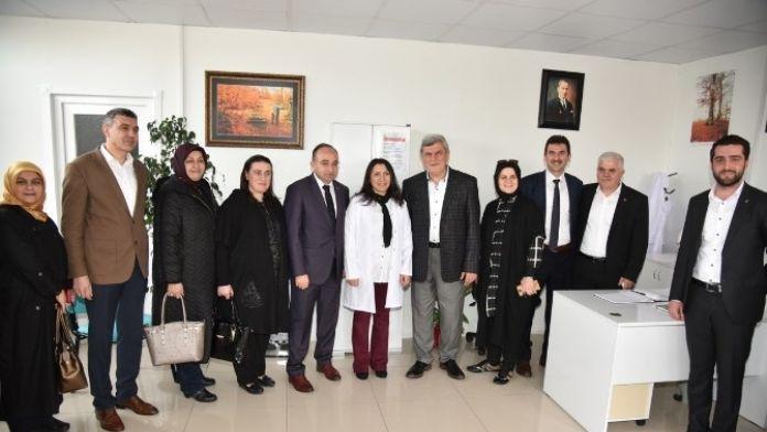 Ataşehir Sağlık Merkezi Başkanları Ağırladı