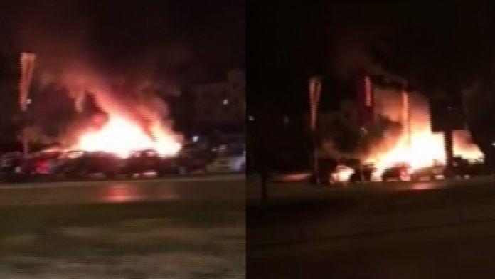 Lefkoşa'da art arda kundaklamalar !
