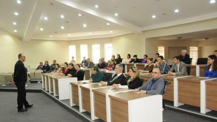 Niğde Belediyesi Personeline E- İmza Eğitimi