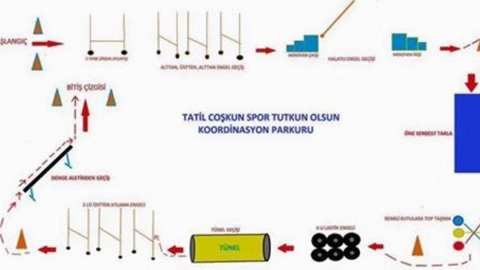 Besni'de Koordinasyon Yarışması Yapılacak
