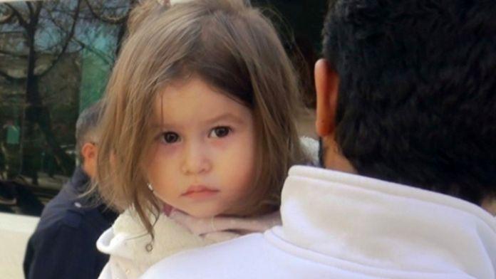 Şehidin kızının bakışları yürekleri dağladı