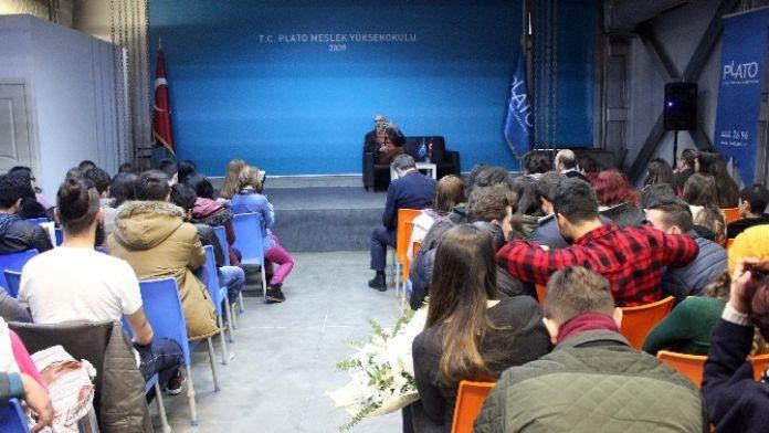 Hıncal Uluç 'Duayen Sohbetleri'nde Öğrencilerle Buluştu