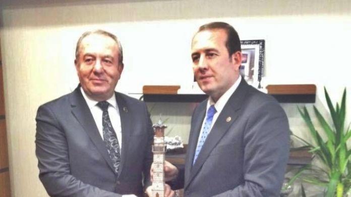 Başkan Şahiner Milletvekili Karacan'ı Ziyaret Etti