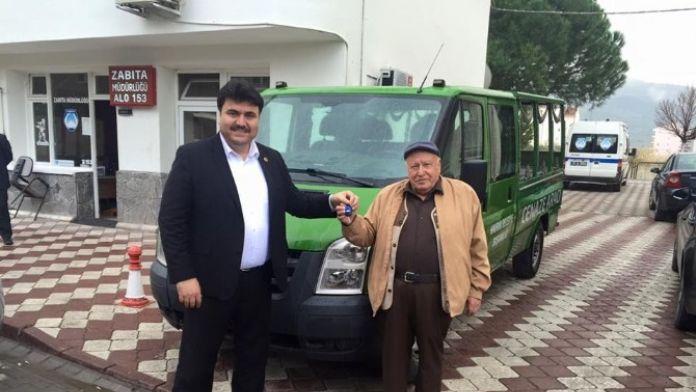 Havran Belediyesi'ne Cenaze Aracı Bağışladı