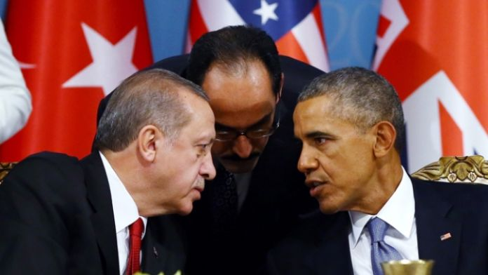 Cumhurbaşkanı Erdoğan Obama'yla görüştü
