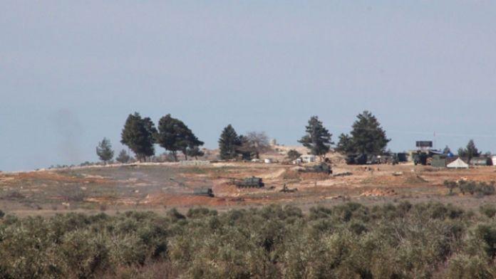 TSK YPG mevzilerini yerle bir etti