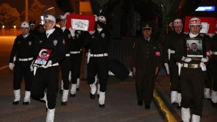 Sur Şehitleri Adana'ya Getirildi