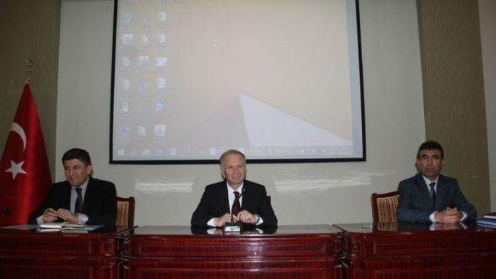 Nevşehir'de Avrupa Birliği Uyum, Danışma Ve Yönlendirme Toplantısı Yapıldı
