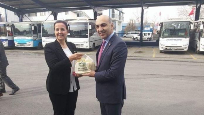 Başkan Güneş'ten Bakırköy Belediyesi'ni Ziyaret