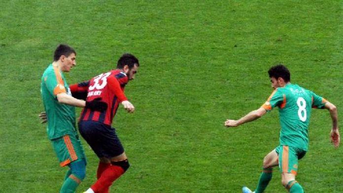 Düzcespor-Bursa Nilüferspor: 1-0
