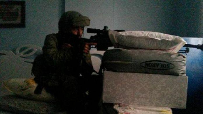 Ordulu şehit astsubayın son fotoğrafı