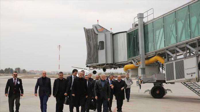 Ulaştırma, Denizcilik ve Haberleşme Bakanı Yıldırım, Diyarbakır'd